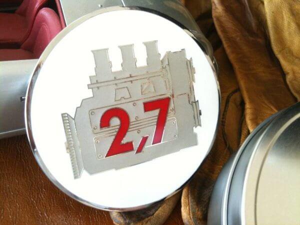 Porsche 911 2,7 Litre badge