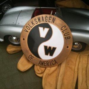 Volkswagen VW Club of America badge