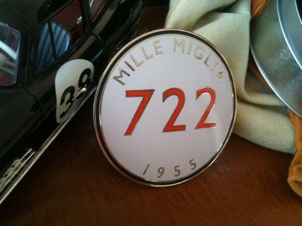 Mercedes Benz Mille Miglia badge