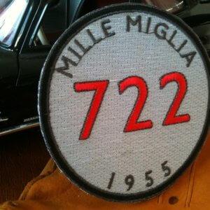 Mercedes Benz Mille Miglia patch
