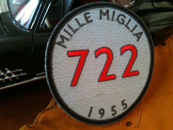 Mercedes Benz Mille Miglia patch