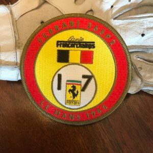 Ferrari Francorchamps Le Mans patch