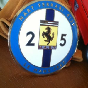 Ferrari NART badge