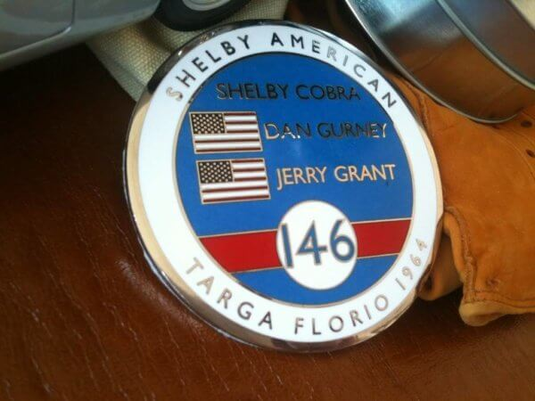 Shelby Cobra badge