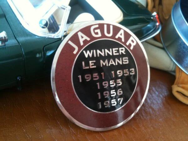 Jaguar Le Mans badge