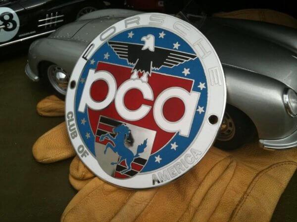 Porsche Club of America badge